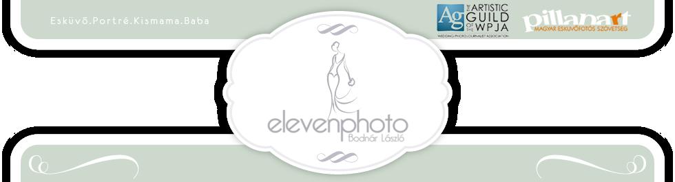 ElevenPhoto Bodnár László Esküvői Fotós logo